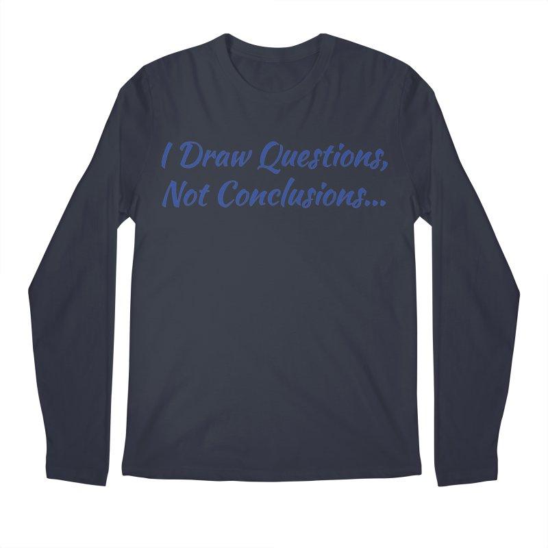 IDQNC-022 (Dark Blue) Men's Regular Longsleeve T-Shirt by jeffjacques's Artist Shop