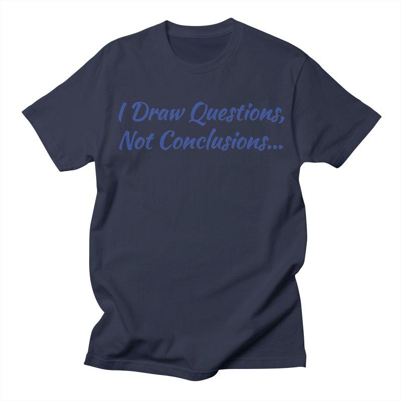 IDQNC-022 (Dark Blue) Men's Regular T-Shirt by jeffjacques's Artist Shop