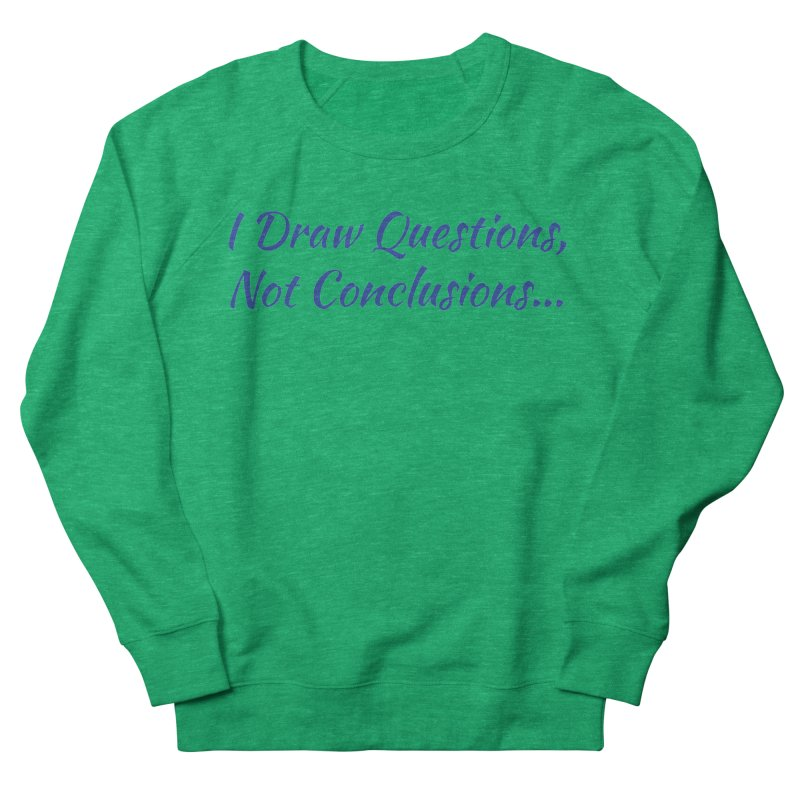 IDQNC-022 (Dark Blue) Women's Sweatshirt by jeffjacques's Artist Shop