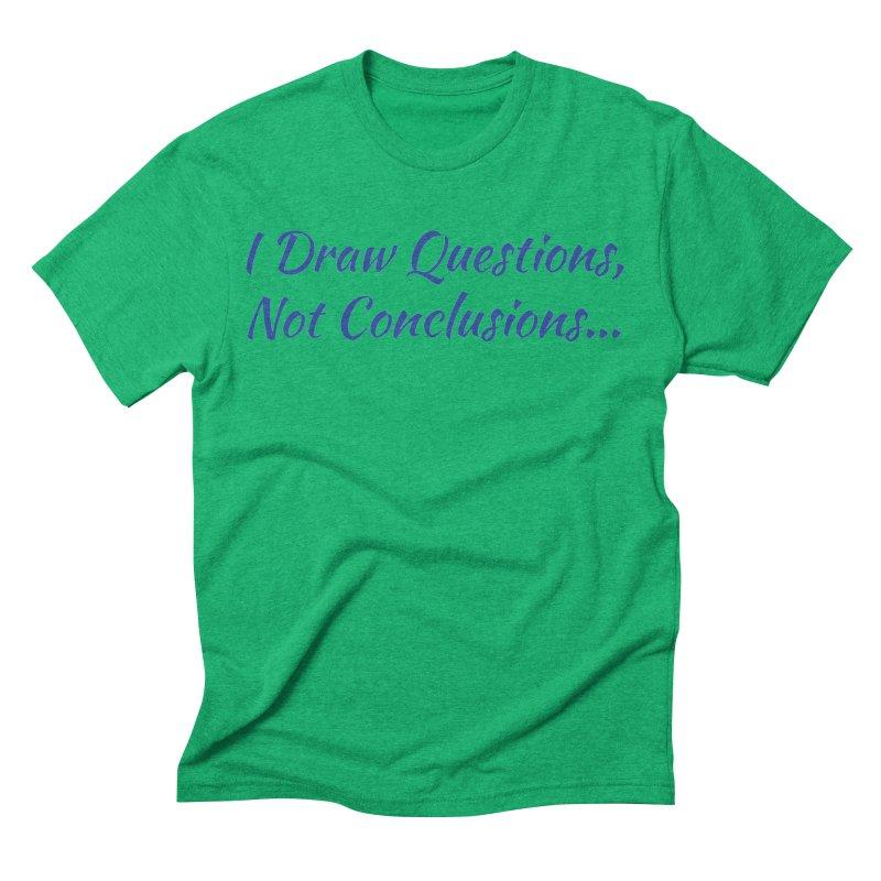 IDQNC-022 (Dark Blue) Men's Triblend T-Shirt by jeffjacques's Artist Shop