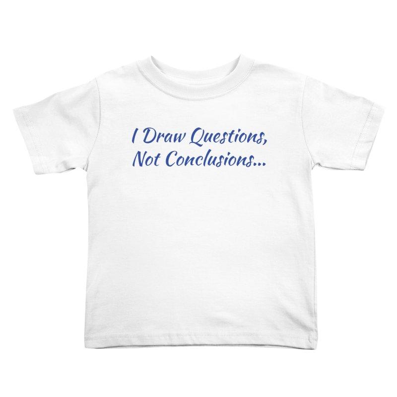 IDQNC-022 (Dark Blue) Kids Toddler T-Shirt by jeffjacques's Artist Shop
