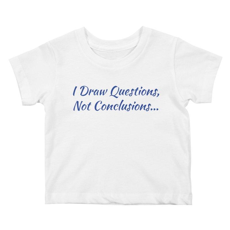 IDQNC-022 (Dark Blue) Kids Baby T-Shirt by jeffjacques's Artist Shop