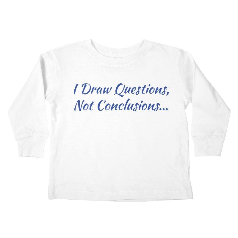 IDQNC-022 (Dark Blue) Kids Toddler Longsleeve T-Shirt by jeffjacques's Artist Shop