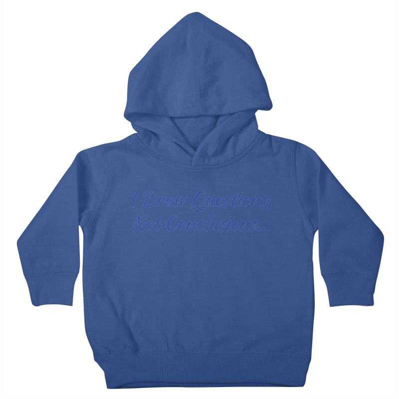 IDQNC-022 (Dark Blue) Kids Toddler Pullover Hoody by jeffjacques's Artist Shop