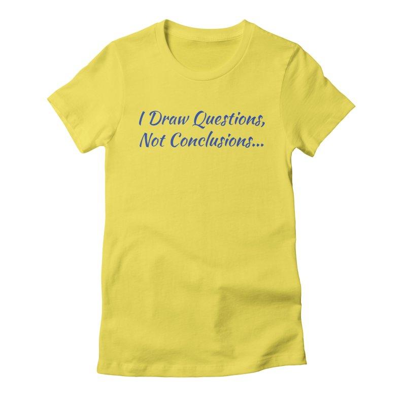 IDQNC-022 (Dark Blue) Women's Fitted T-Shirt by jeffjacques's Artist Shop