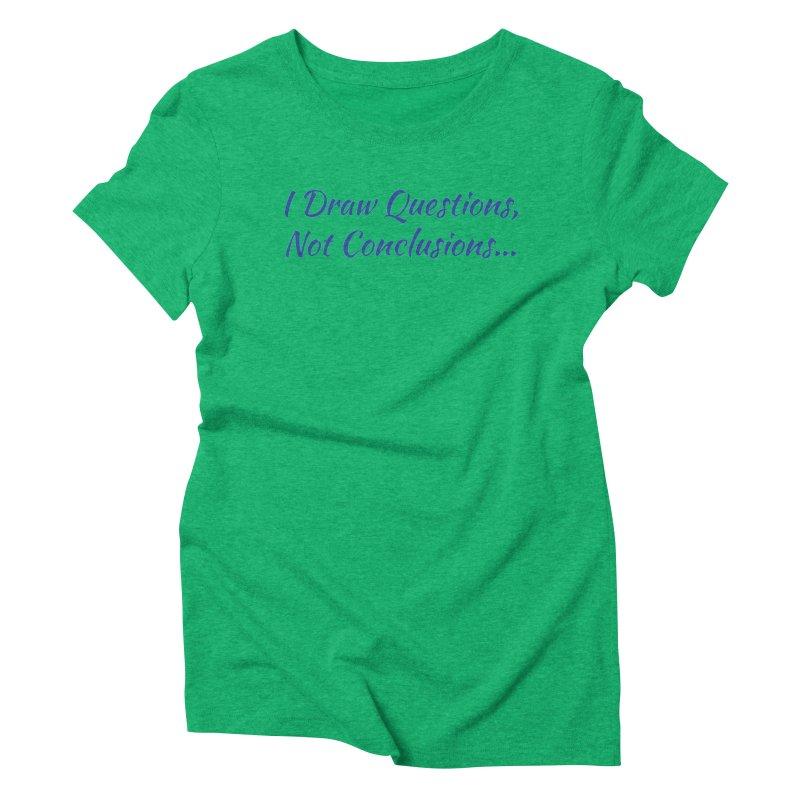 IDQNC-022 (Dark Blue) Women's Triblend T-Shirt by jeffjacques's Artist Shop