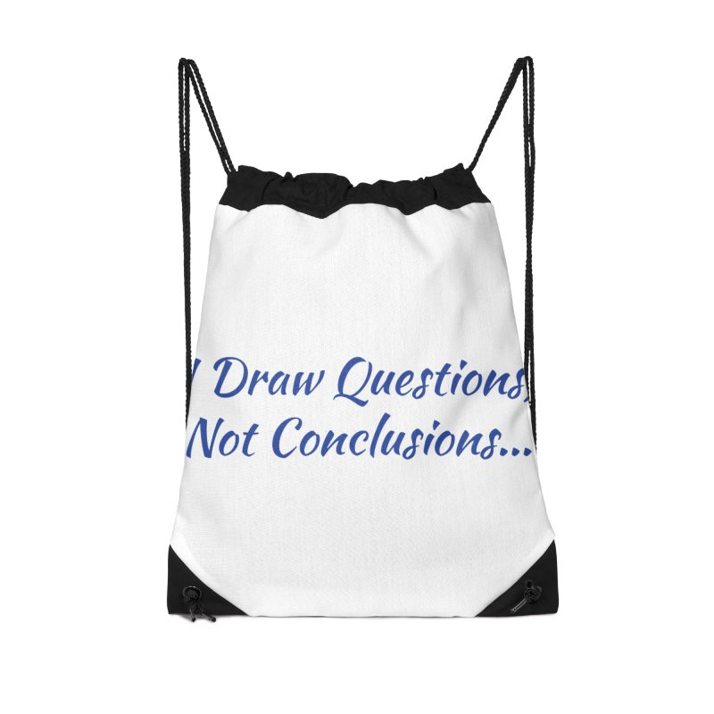 IDQNC-022 (Dark Blue) Accessories Drawstring Bag Bag by jeffjacques's Artist Shop