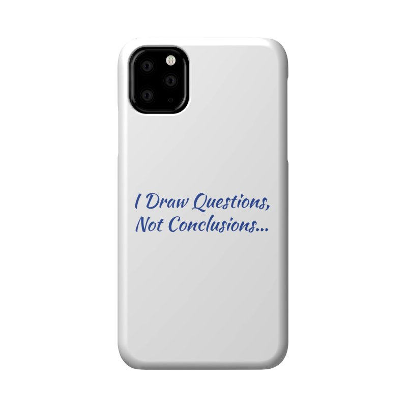 IDQNC-022 (Dark Blue) Accessories Phone Case by jeffjacques's Artist Shop