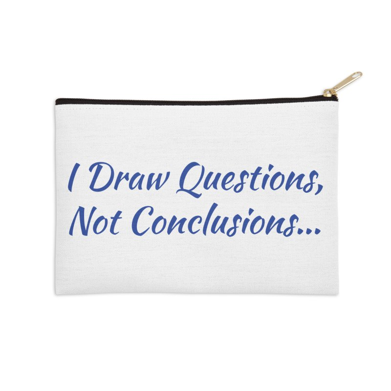 IDQNC-022 (Dark Blue) Accessories Zip Pouch by jeffjacques's Artist Shop