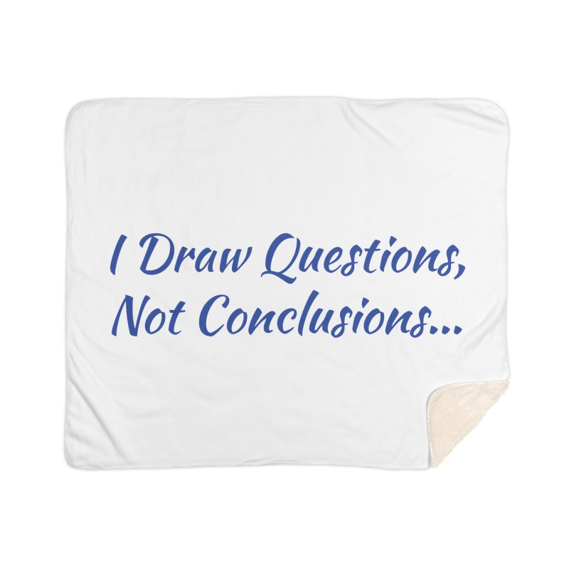 IDQNC-022 (Dark Blue) Home Sherpa Blanket Blanket by jeffjacques's Artist Shop