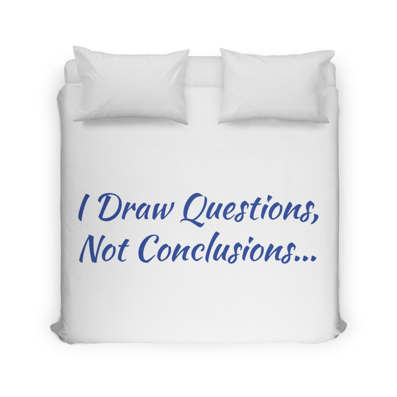 IDQNC-022 (Dark Blue) Home Duvet by jeffjacques's Artist Shop
