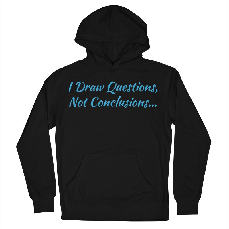 IDQNC-022 (Light Blue) Men's French Terry Pullover Hoody by jeffjacques's Artist Shop