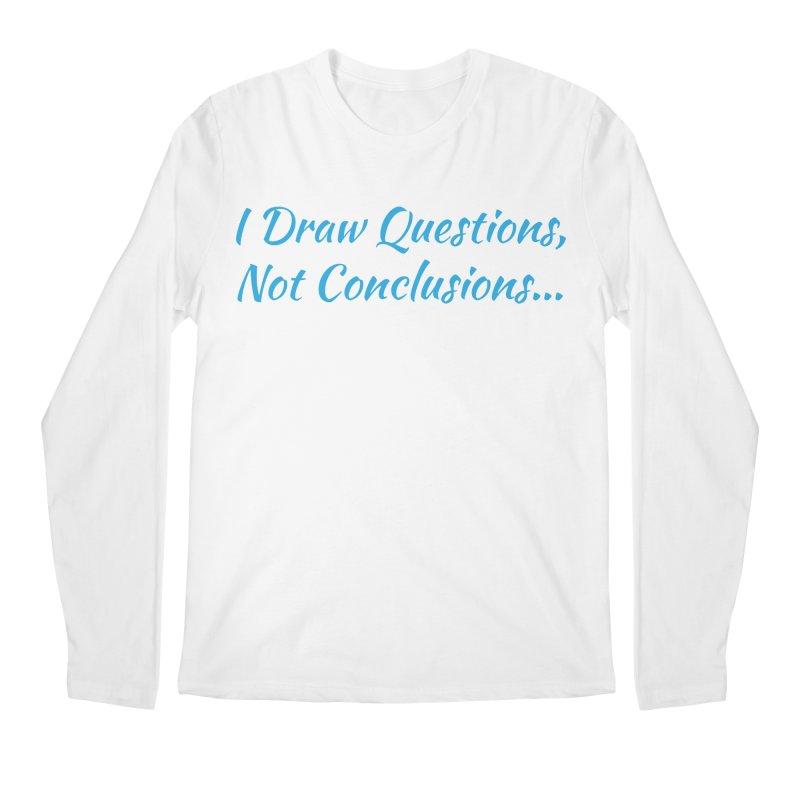 IDQNC-022 (Light Blue) Men's Regular Longsleeve T-Shirt by jeffjacques's Artist Shop