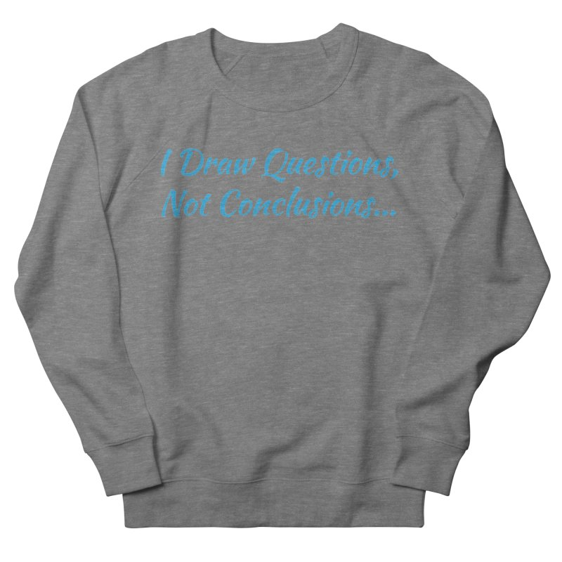IDQNC-022 (Light Blue) Women's French Terry Sweatshirt by jeffjacques's Artist Shop