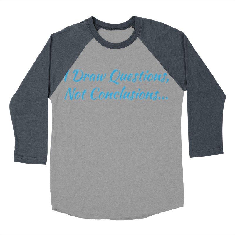 IDQNC-022 (Light Blue) Women's Baseball Triblend Longsleeve T-Shirt by jeffjacques's Artist Shop