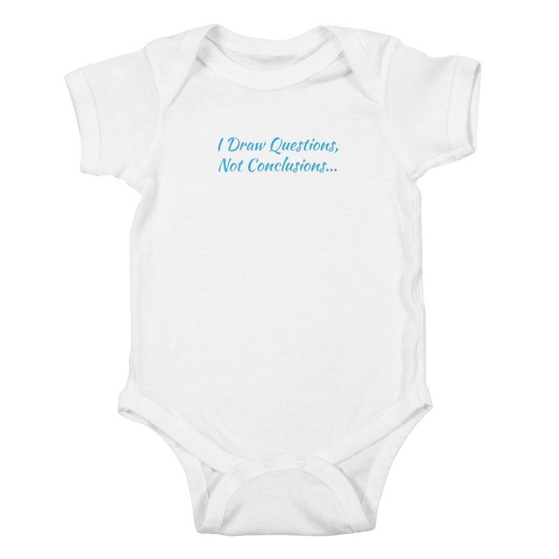 IDQNC-022 (Light Blue) Kids Baby Bodysuit by jeffjacques's Artist Shop