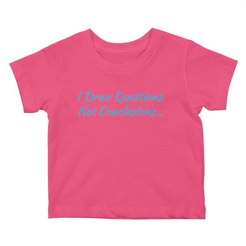 IDQNC-022 (Light Blue) Kids Baby T-Shirt by jeffjacques's Artist Shop