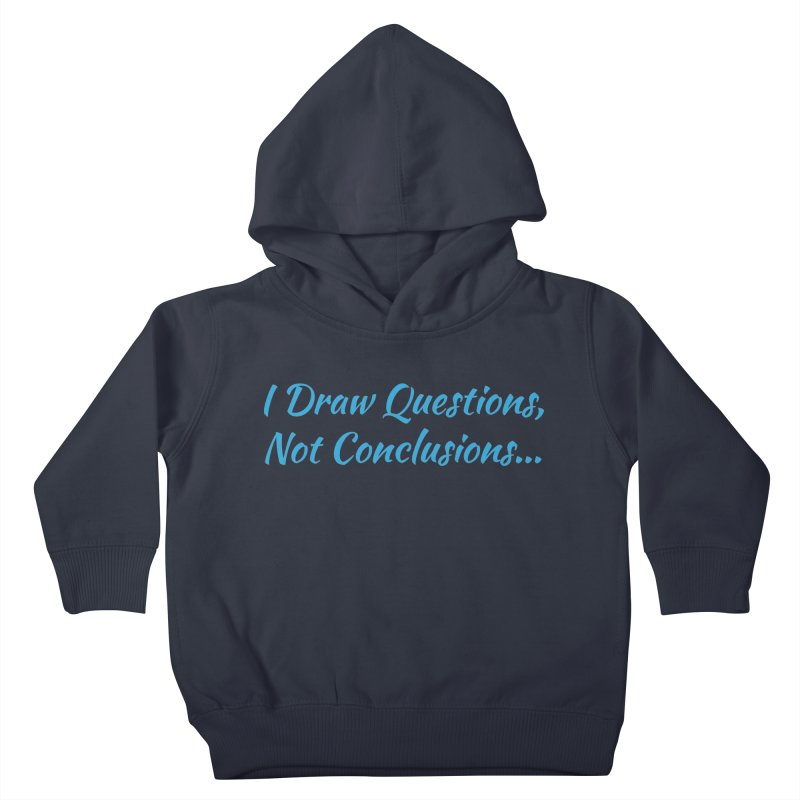 IDQNC-022 (Light Blue) Kids Toddler Pullover Hoody by jeffjacques's Artist Shop