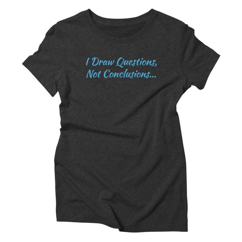 IDQNC-022 (Light Blue) Women's Triblend T-Shirt by jeffjacques's Artist Shop
