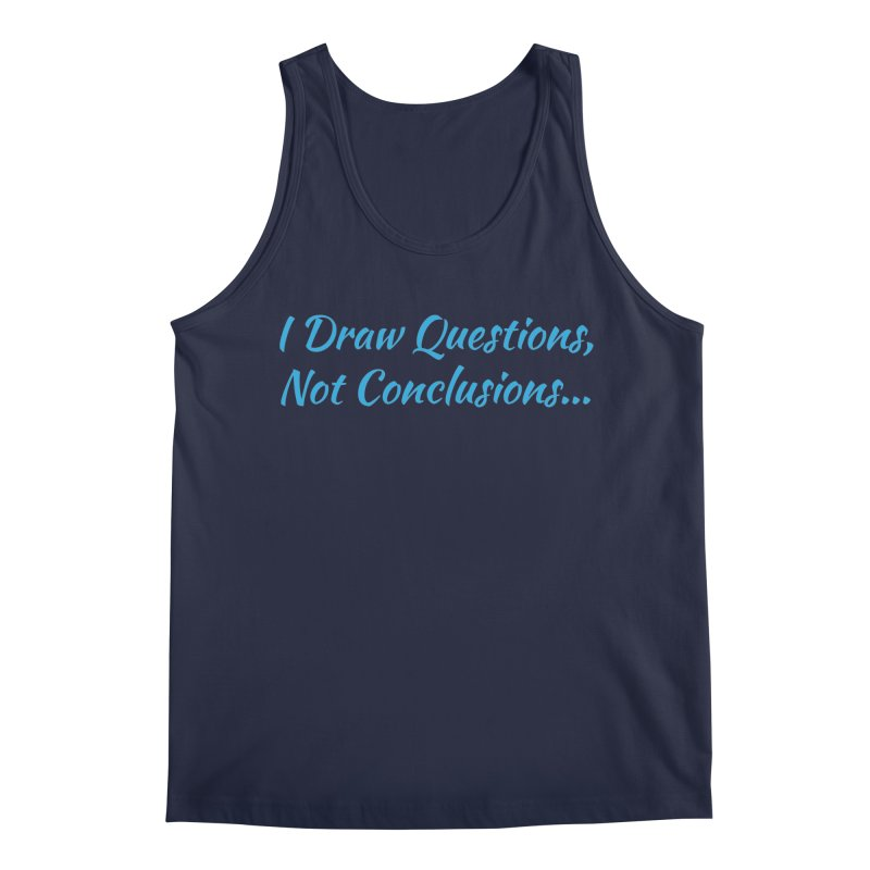IDQNC-022 (Light Blue) Men's Regular Tank by jeffjacques's Artist Shop