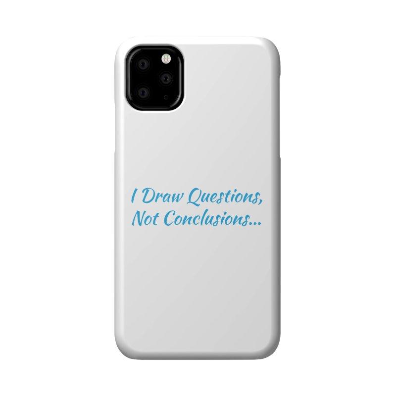 IDQNC-022 (Light Blue) Accessories Phone Case by jeffjacques's Artist Shop