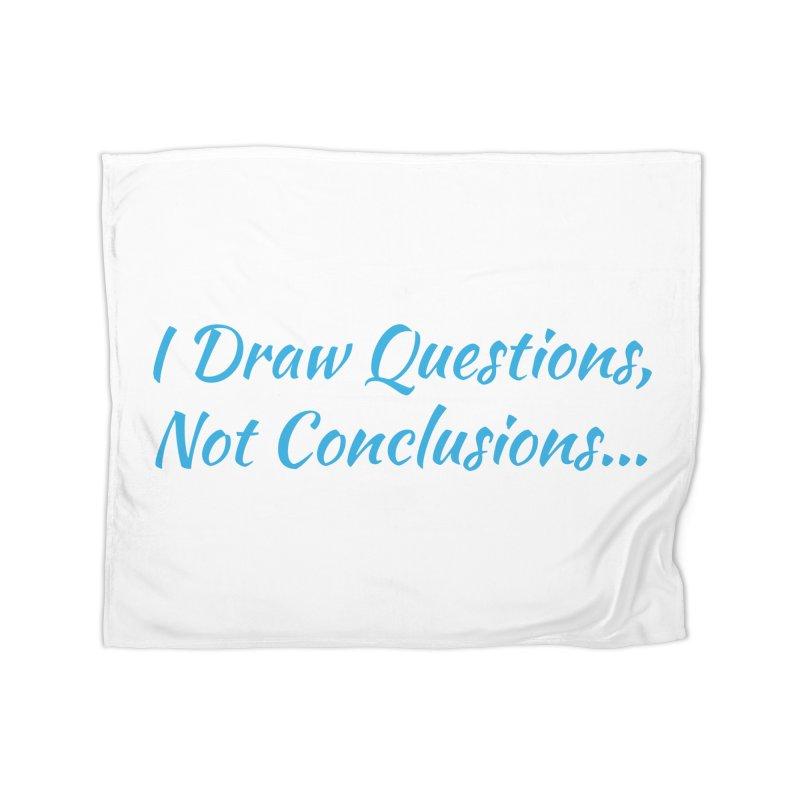 IDQNC-022 (Light Blue) Home Fleece Blanket Blanket by jeffjacques's Artist Shop