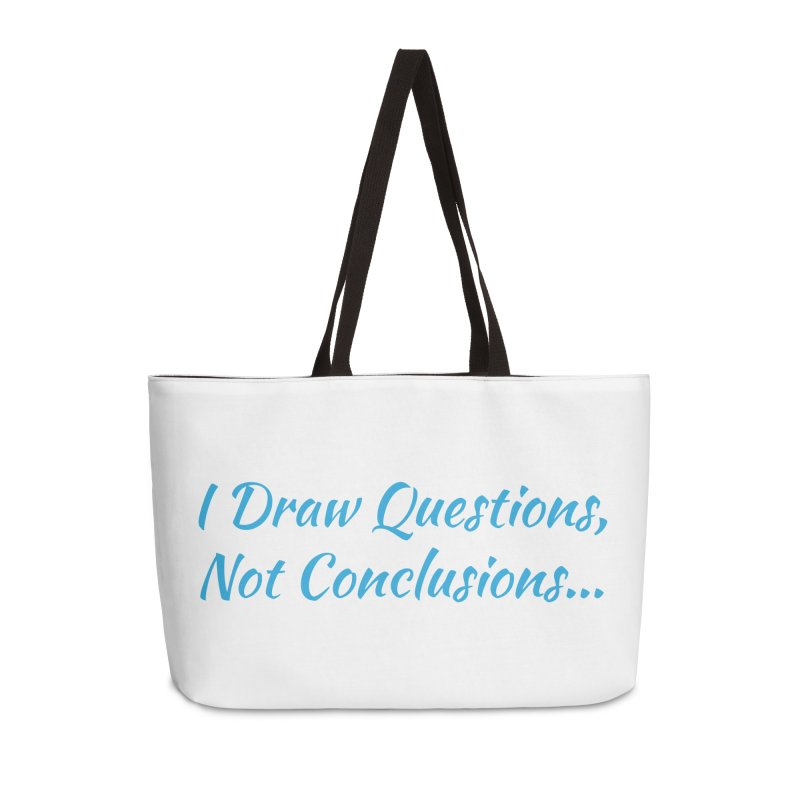 IDQNC-022 (Light Blue) Accessories Weekender Bag Bag by jeffjacques's Artist Shop