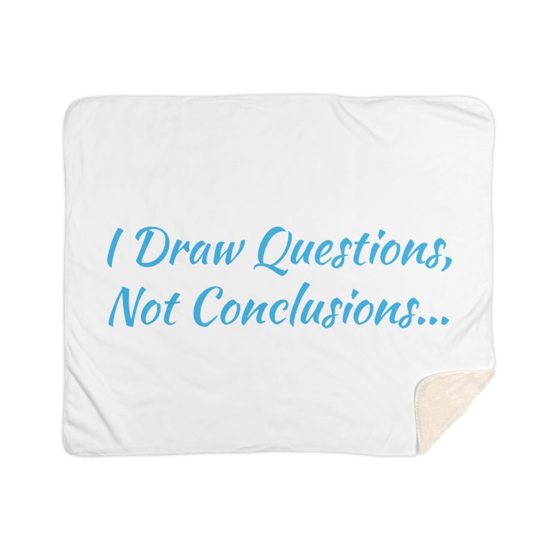 IDQNC-022 (Light Blue) Home Sherpa Blanket Blanket by jeffjacques's Artist Shop