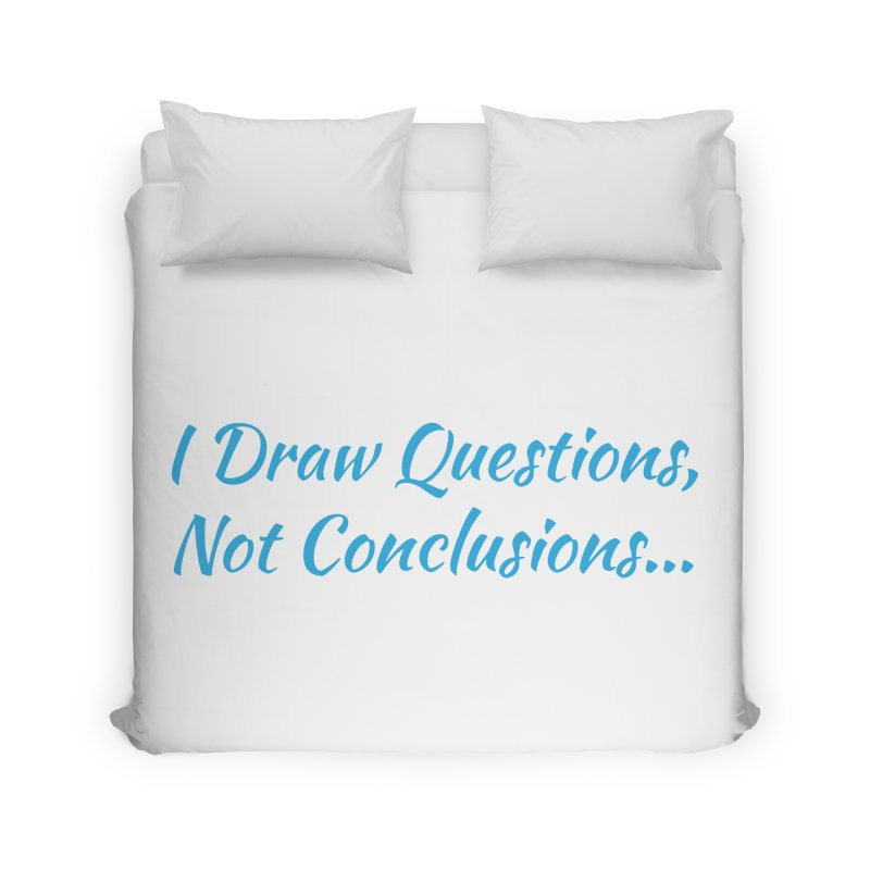 IDQNC-022 (Light Blue) Home Duvet by jeffjacques's Artist Shop