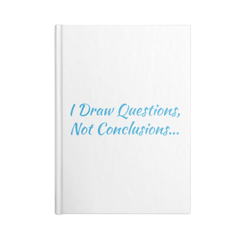 IDQNC-022 (Light Blue) Accessories Blank Journal Notebook by jeffjacques's Artist Shop
