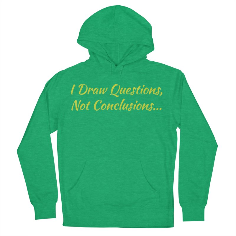 IDQNC-022 (Lime) Men's French Terry Pullover Hoody by jeffjacques's Artist Shop