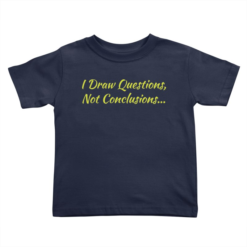 IDQNC-022 (Lime) Kids Toddler T-Shirt by jeffjacques's Artist Shop