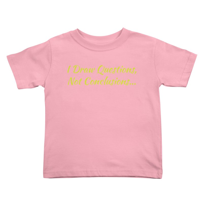 IDQNC-022 (Lime) Kids Toddler T-Shirt by jeffjacques's Artist Shop