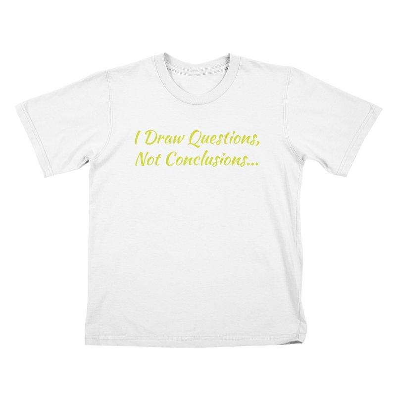 IDQNC-022 (Lime) Kids T-Shirt by jeffjacques's Artist Shop