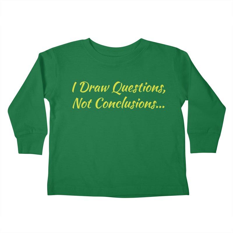 IDQNC-022 (Lime) Kids Toddler Longsleeve T-Shirt by jeffjacques's Artist Shop