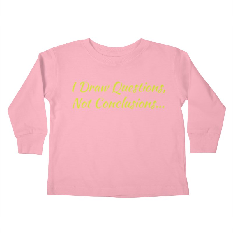 IDQNC-022 (Lime) Kids Toddler Longsleeve T-Shirt by jeffjacques's Artist Shop