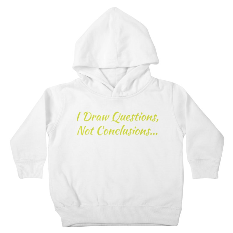 IDQNC-022 (Lime) Kids Toddler Pullover Hoody by jeffjacques's Artist Shop