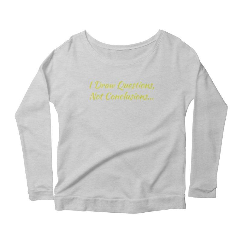 IDQNC-022 (Lime) Women's Scoop Neck Longsleeve T-Shirt by jeffjacques's Artist Shop