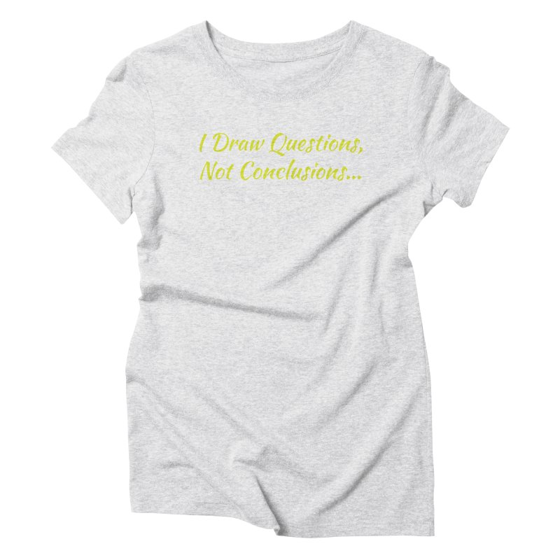 IDQNC-022 (Lime) Women's T-Shirt by jeffjacques's Artist Shop