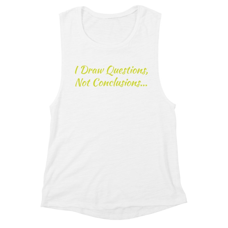 IDQNC-022 (Lime) Women's Muscle Tank by jeffjacques's Artist Shop