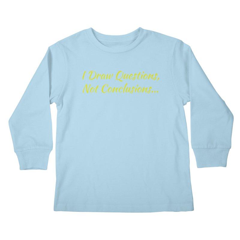 IDQNC-022 (Lime) Kids Longsleeve T-Shirt by jeffjacques's Artist Shop