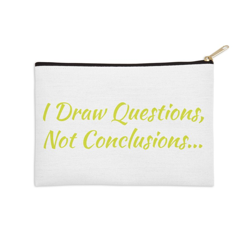 IDQNC-022 (Lime) Accessories Zip Pouch by jeffjacques's Artist Shop