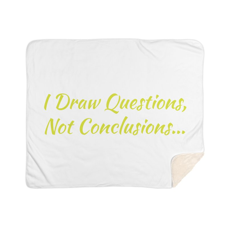 IDQNC-022 (Lime) Home Sherpa Blanket Blanket by jeffjacques's Artist Shop