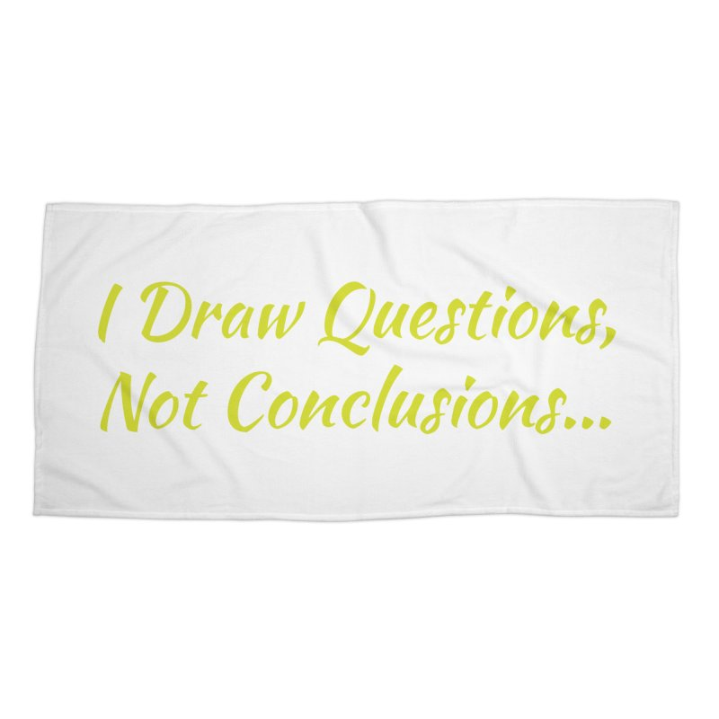 IDQNC-022 (Lime) Accessories Beach Towel by jeffjacques's Artist Shop