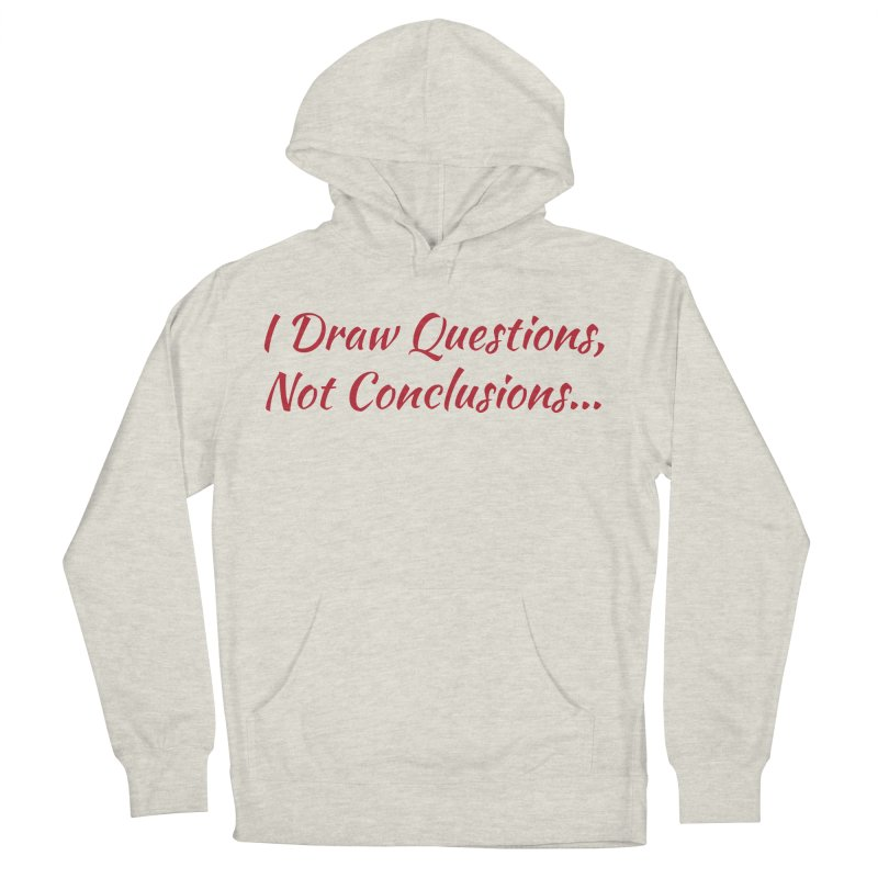 IDQNC-022 (Red) Men's French Terry Pullover Hoody by jeffjacques's Artist Shop