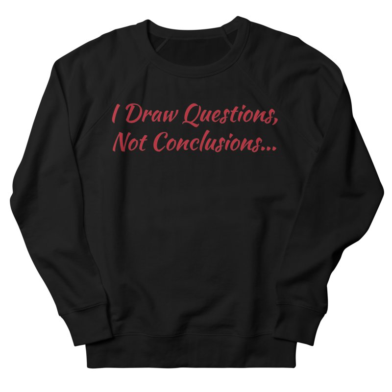 IDQNC-022 (Red) Women's French Terry Sweatshirt by jeffjacques's Artist Shop