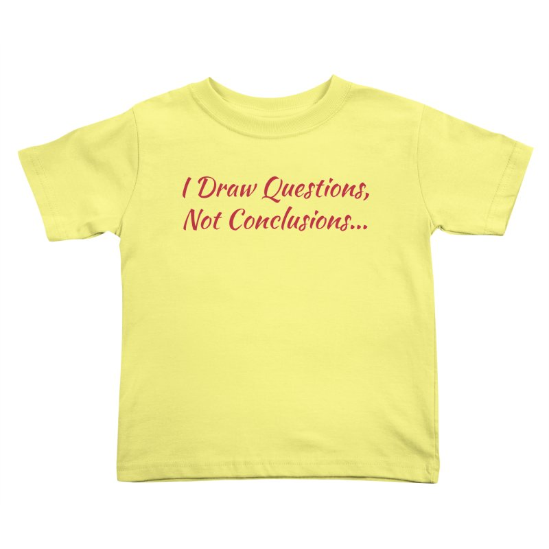 IDQNC-022 (Red) Kids Toddler T-Shirt by jeffjacques's Artist Shop