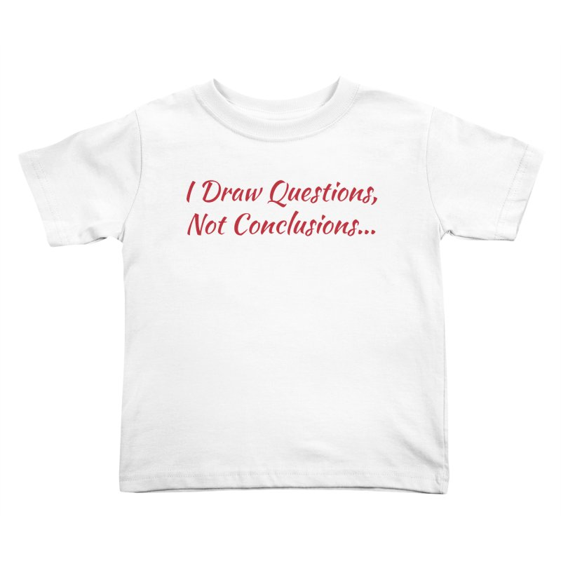 IDQNC-022 (Red) Kids Toddler T-Shirt by jeffjacques's Artist Shop