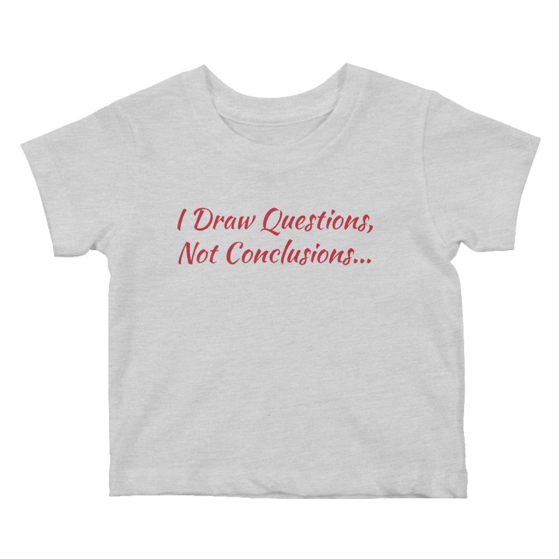 IDQNC-022 (Red) Kids Baby T-Shirt by jeffjacques's Artist Shop