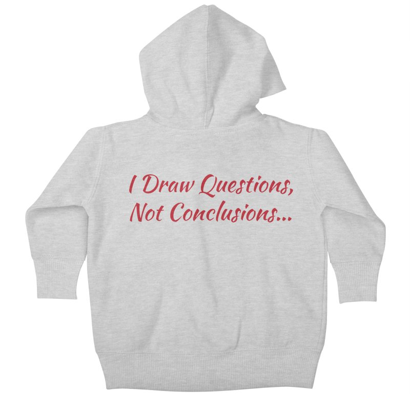 IDQNC-022 (Red) Kids Baby Zip-Up Hoody by jeffjacques's Artist Shop